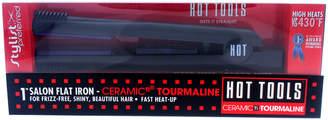Hot Tools Ceramic Titanium 1In Tourmaline Flat Iron