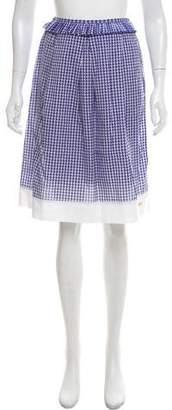 Fendi Printed Knee-Length Skirt