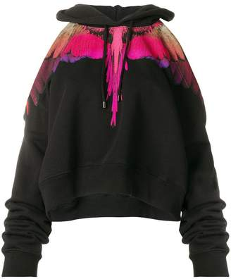 Marcelo Burlon County of Milan Wings cropped hoodie