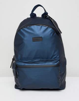 Consigned Pocket Backpack With Waterproof Zips In Black