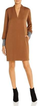 Marella Picco Metallic-Cuff Shift Dress