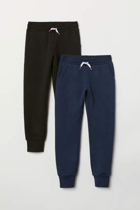 H&M 2-pack Sweatpants - Black