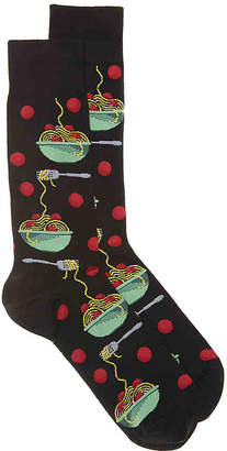 Hot Sox Meatballs Crew Socks - Men's