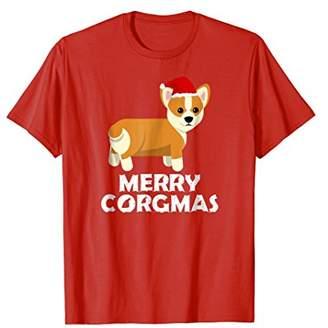 Corgi Merry Corgmas T Shirt funny dog holiday gift tee