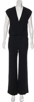 L'Agence Sleeveless Wide-Leg Jumpsuit