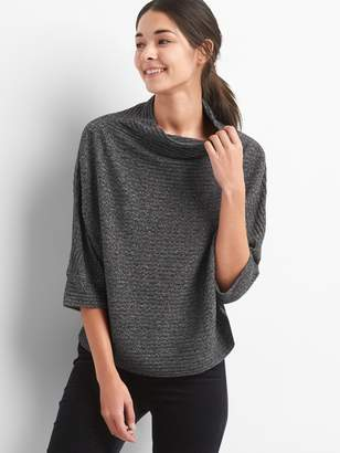 Gap Textured funnel-neck pullover sweater