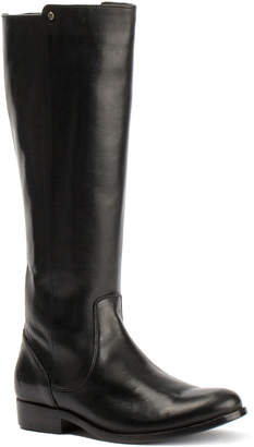 Frye Melissa Stud Back Zipper Leather Boot
