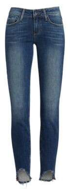 Paige Verdugo Crop Arch Hem Jeans