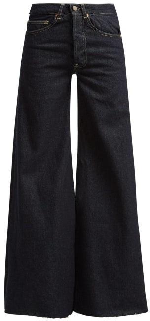 Loon Wide Leg Jeans - Womens - Indigo