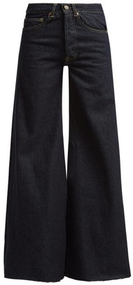 Raey Loon Wide Leg Jeans - Womens - Indigo
