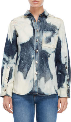 Each X Other Bleach Denim Long Sleeve Shirt