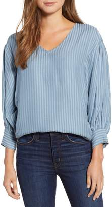 Lou & Grey Pickstitch Jacquard Top