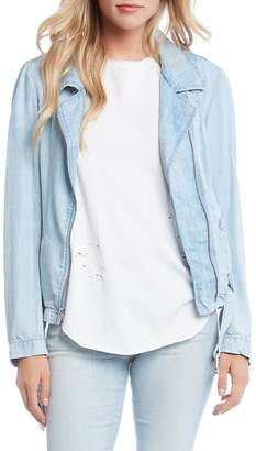 Fifteen-Twenty Fifteen Twenty Denim Moto Jacket