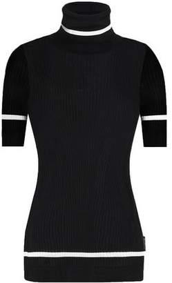 Moncler Ribbed-Knit Turtleneck Sweater