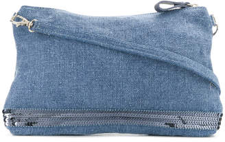 Vanessa Bruno denim clutch