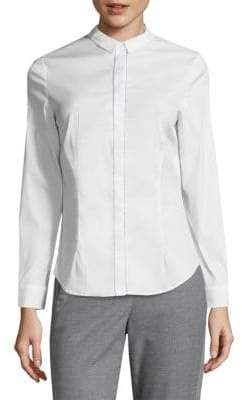 Peserico Embellished Button-Down Shirt