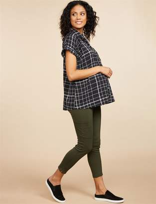 efca64255d9d8 Motherhood Maternity Secret Fit Belly Ponte Straight Leg Maternity Pants