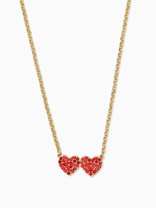 Kate Spade Yours Truly Pave Heart Mini Pendant