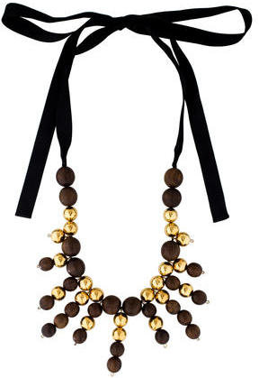 MarniMarni Beaded Collar Necklace