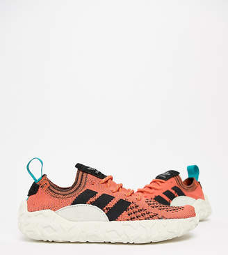 adidas F/22 Primeknit Trainers In Orange