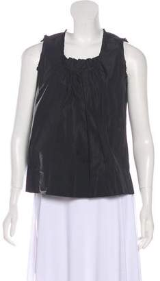 Marc Jacobs Silk Sleeveless Top