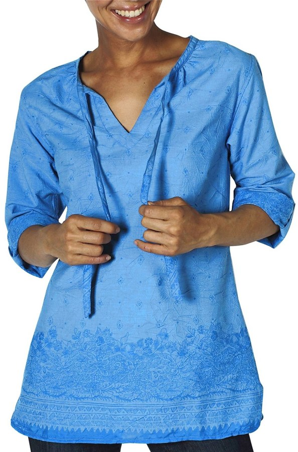Exofficio Next-to-Nothing Razi Tunic Shirt - Long Sleeve (For Women)