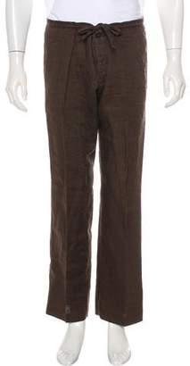HUGO BOSS Boss by Woven Linen Pants
