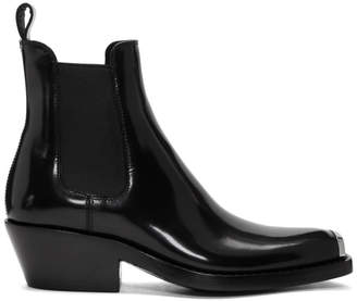 Calvin Klein Black Western Claire Boots