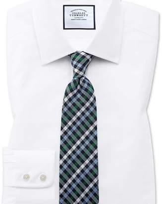Charles Tyrwhitt Classic fit Egyptian cotton poplin white shirt