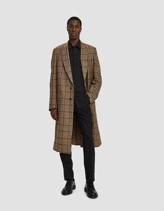 Dries Van Noten Houndstooth Twill Jacket in Camel