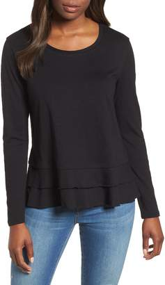 Caslon Tiered Long Sleeve Tee