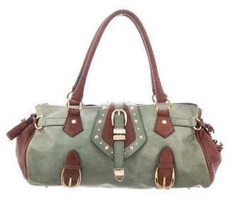 Etro Leather Studded Tote