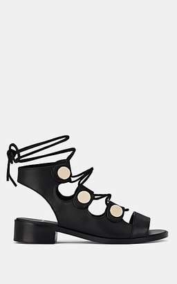 Pierre Hardy Women's Penny Ankle-Tie Sandals - Black