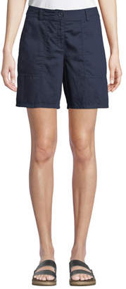 Eileen Fisher Organic Cotton Twill Walking Shorts