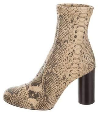 Isabel Marant Rillyan Snakeskin Ankle Boots w/ Tags Tan Rillyan Snakeskin Ankle Boots w/ Tags