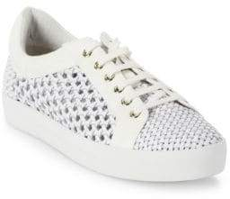 Joie Duha Woven Leather Sneakers