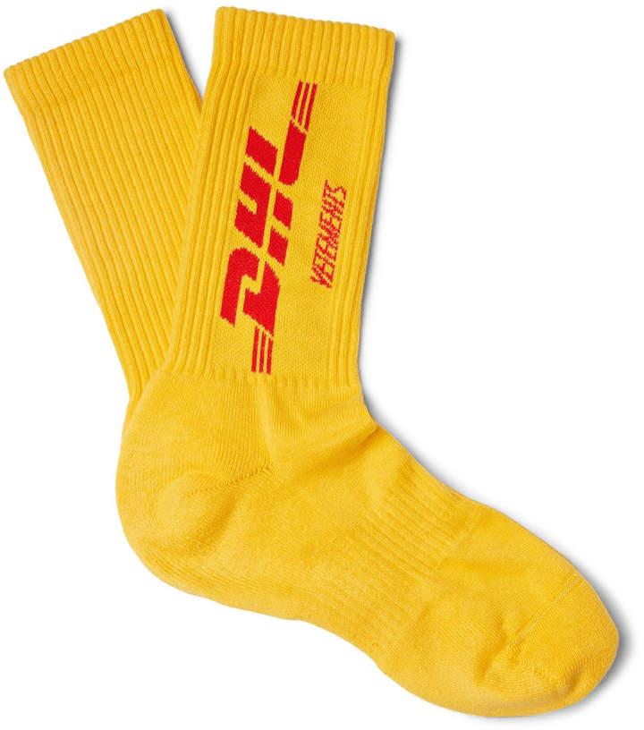+ DHL Cotton Socks