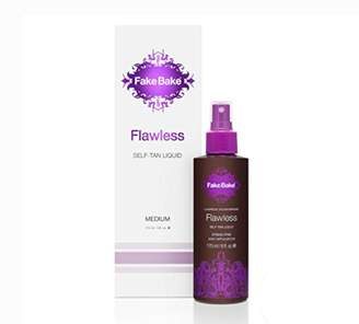 Fake Bake Self Tanning Liquid Solution Flawless by | Luxurious and Fast-Drying Solution that delivers a Beautiful Streak-Free Golden Glow | Black Coconut Scent | 6 fl oz