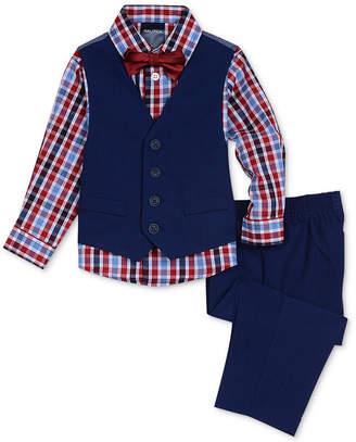 Nautica Baby Boys 4-Pc. Vest, Shirt, Pants & Bow Tie Set