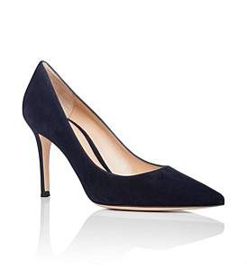 Gianvito Rossi Simple Suede Pump