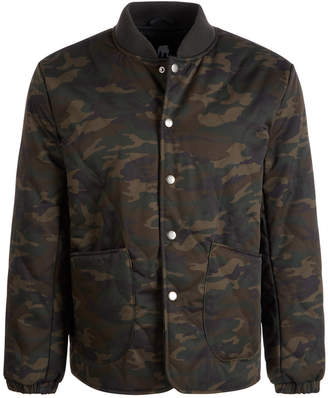American Stitch Men Snap-Up Bomber Jacket