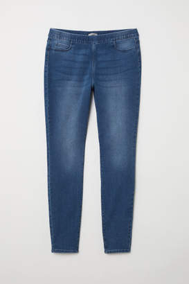 H&M H&M+ Skinny Fit Treggings - Blue
