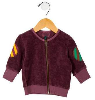 Bobo Choses Girls' Textured Zip-Up Sweater w/ Tags