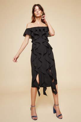 C/Meo COLLECTIVE DREAM STATE DRESS black