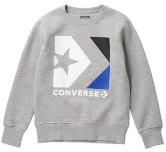 Converse Box Star Chevron Sweater (Big Boys)