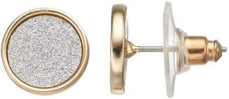 Lauren Conrad Round Stud Earrings
