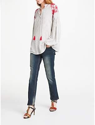 AND/OR Silverlake Straight Leg Jeans, Deja Blue