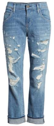 A Gold E AGOLDE Isabel High Waist Ankle Straight Leg Jeans