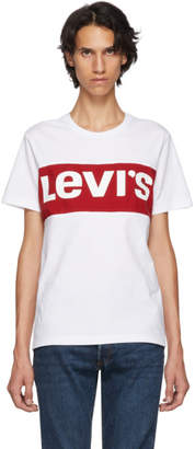 Levi's Levis White Box Logo T-Shirt