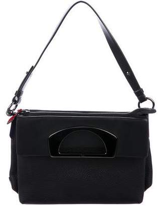 Christian Louboutin Grained Leather Satchel
